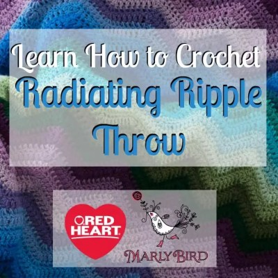 Radiating Ripple Stitch Pattern Video