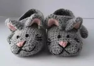 SZ Zoe the Cat slippers