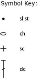 Pineapple Square Symbol Key-1