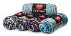 Red Heart Yarn's Super Saver