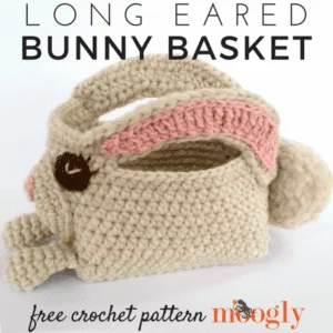 Long Eared Bunny Basket