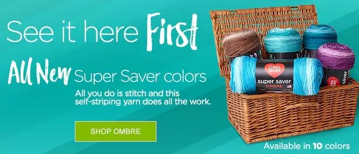 Red Heart Super Saver Ombre