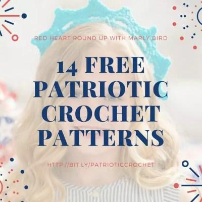 14 Free Patriotic Crochet Patterns