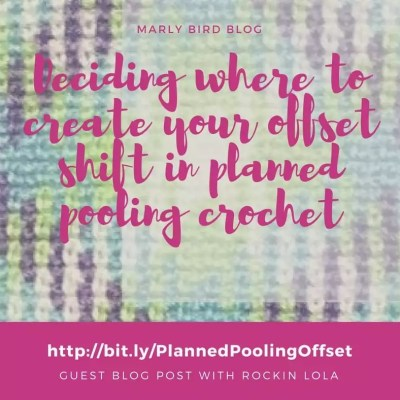 Planned Pooling Crochet: Deciding Where to Create your Offset Shift
