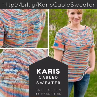Karis Cable Sweater