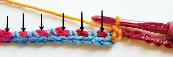 Hidden Starting Chain Technique in Planned Pooling Crochet