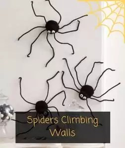 Spiders Climbing Walls Free Pattern from Red Heart