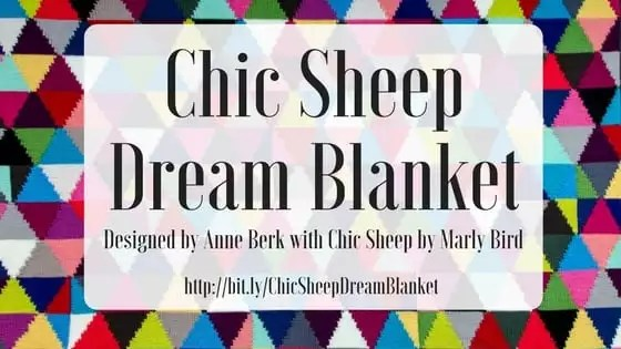 Chic Sheep Dream Blanket Free pattern by Anne Berk