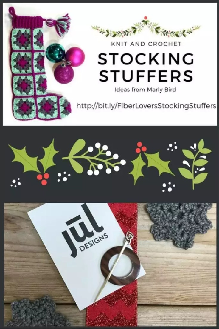 Knit and Crochet Gift Ideas with JUL Designs