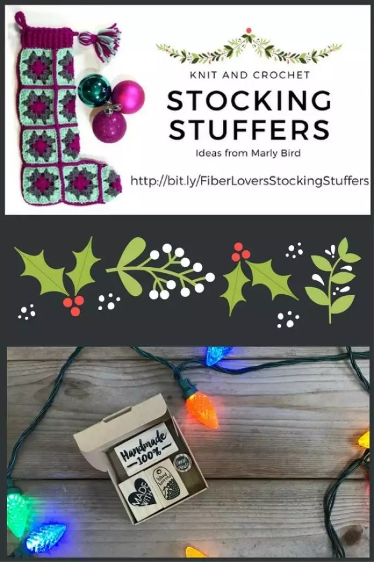 Knit and Crochet Gift Ideas with Biterswit Stamps