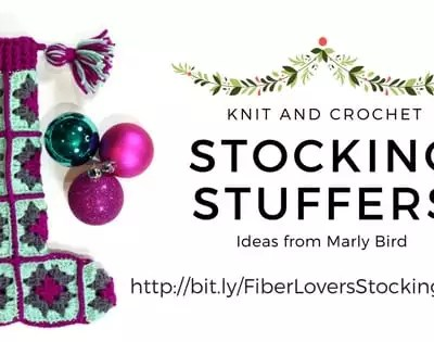 Knit and Crochet Gift Ideas and Stocking Stuffers