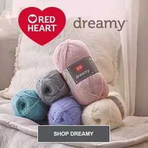 Red Heart Dreamy Yarn