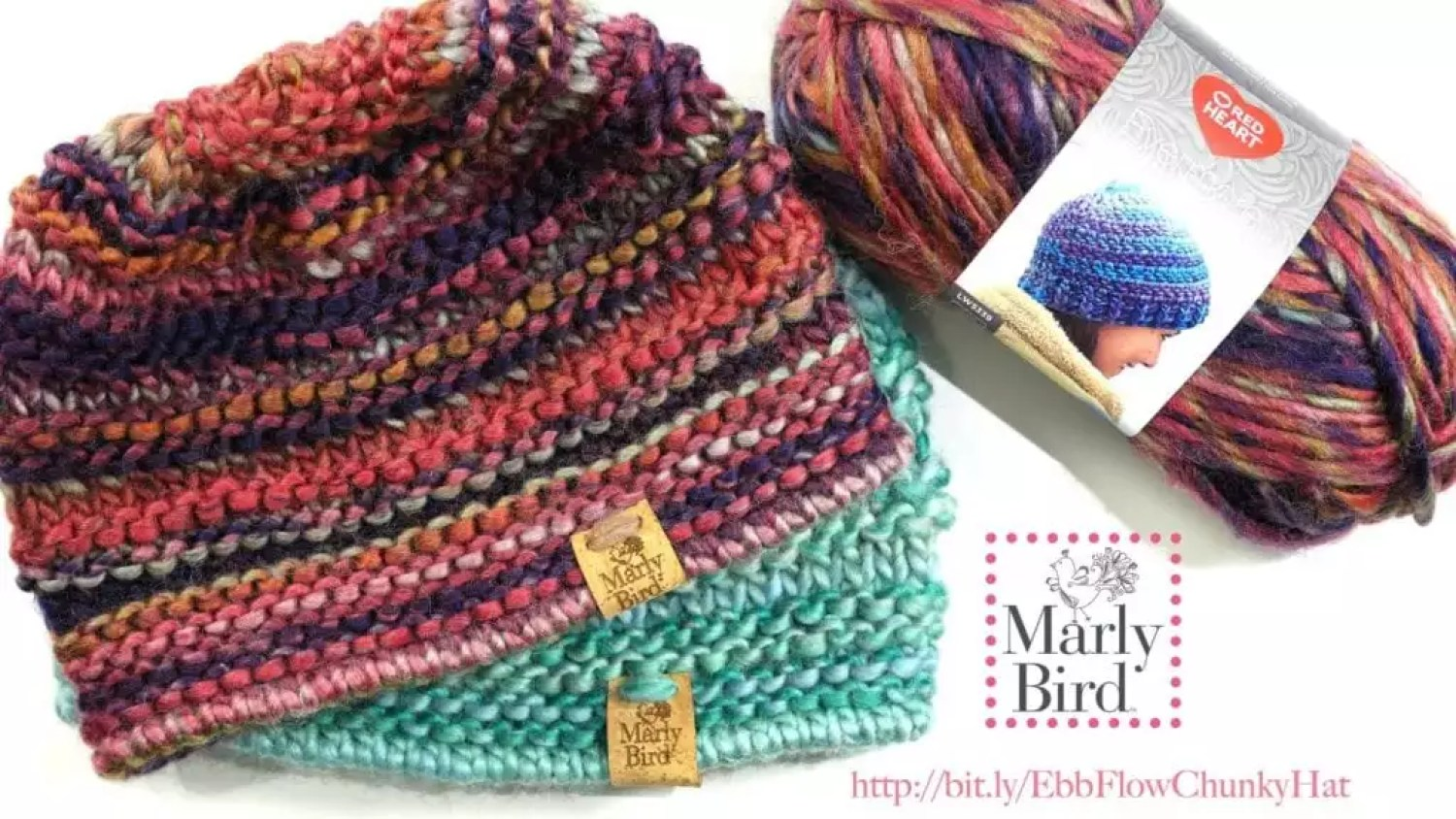 6c77cd88a Ebb and Flow Chunky Knit Hat - Marly Bird™
