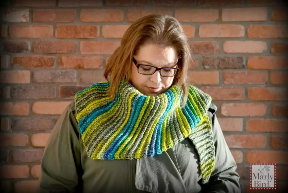 Lime Verbena Shawl by Marly Bird [Free Pattern]