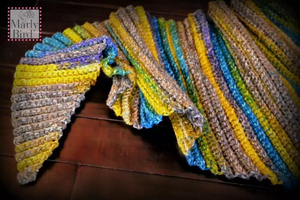 Lime Verbena FREE Crochet Shawl Pattern