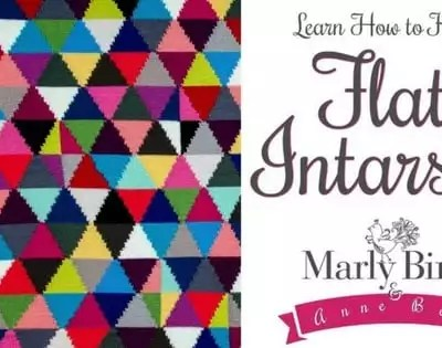 Learn How to Knit Flat Intarsia with Anne Berk and Marly Bird