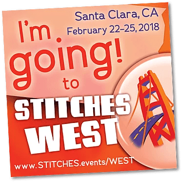 Stitches West Santa Clara CA Feb 22-25 2018