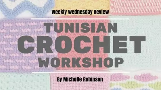 Weekly Wednesday Review-Tunisian Crochet Workshop
