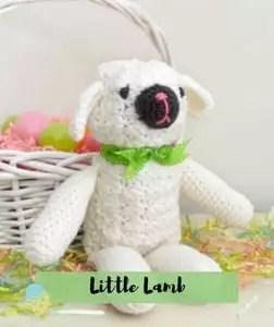 Little Lamb Crochet Easter Pattern
