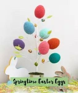 Spring Time Eggs Crochet Easter Pattern