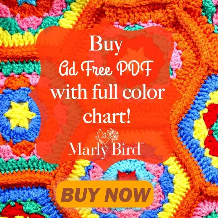 FREE Crochet Baby Blanket Pattern-Hello Baby Hugs Blanket by Marly Bird