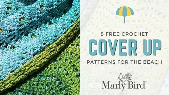 8 FREE Crochet Cover Up Patterns