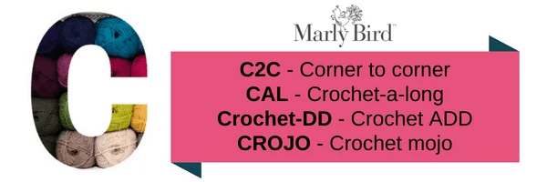 Crochet Slang Terms-C