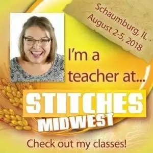 Marly Bird at Stitches MidWest 2018
