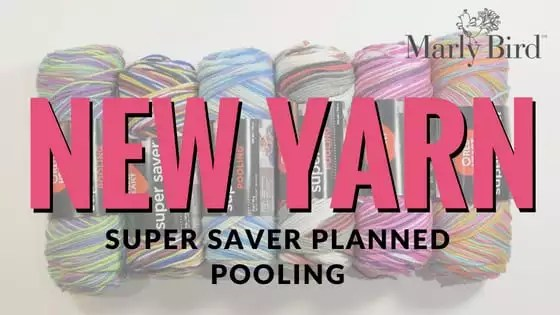 Planned Pooling Crochet Made Easier? New Pooling Yarn from Red Heart