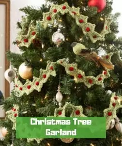 Christmas Tree Garland by Bonnie Barker