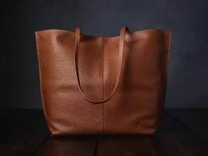 Furls Leather Project Bag