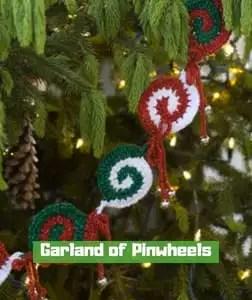 Garland of Pinwheels by Mary Jane Protus