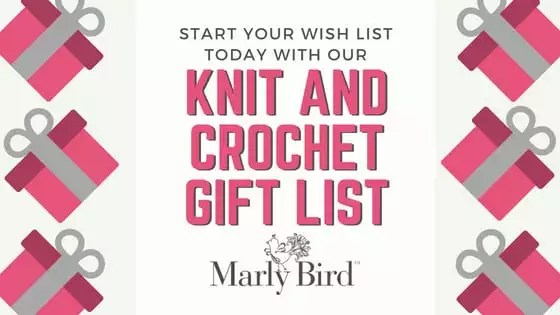 Knit and Crochet Gift List Ideas