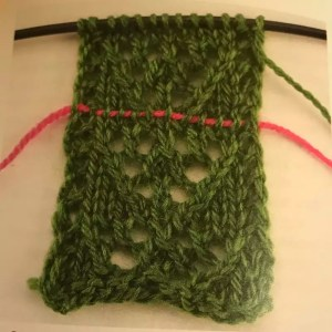 Lace Knitting 101-Using a lifeline