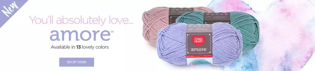 NEW Red Heart Amore Yarn