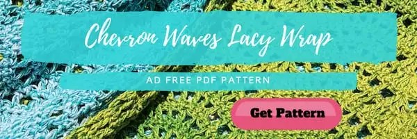 Chevron Waves Lacy Wrap Pattern