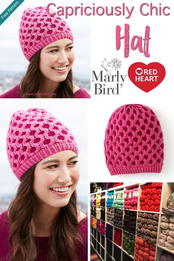 Video Tutorial How to work the honeycomb cable and fair isle in the Capriciously Chic Hat