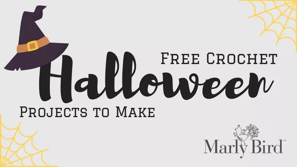 FREE Crochet Halloween Projects to Make