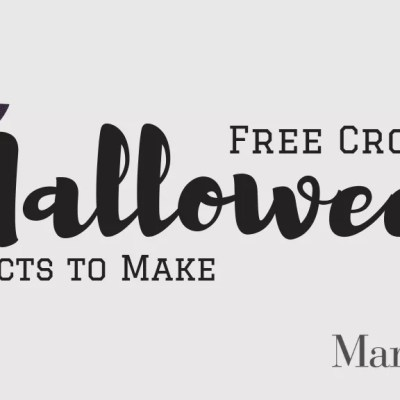 FREE Halloween Crochet Projects for you to Make