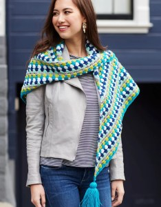 Shivering Chic Crochet Shawl