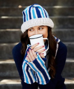 14 FREE Blue Hats Patterns-Boyfriend's Chic Accessory Set