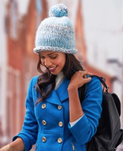 14 FREE Blue Hats Patterns-Fantastic Pommed Hat