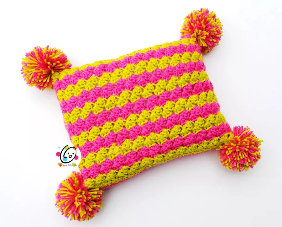 Happy Chic Pillow by Snappy Tots