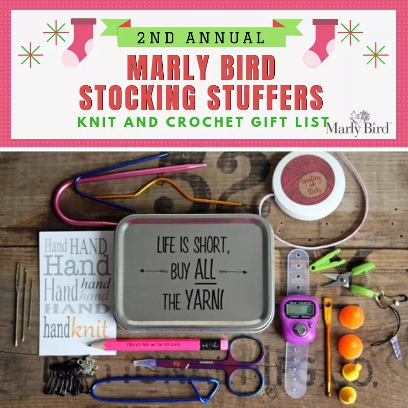 Knit and Crochet Stocking Stuffer Ideas-Creating with Sticks