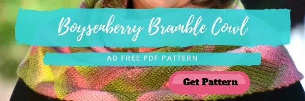 Purchase the Boysenberry Bramble Cowl by Marly Bird