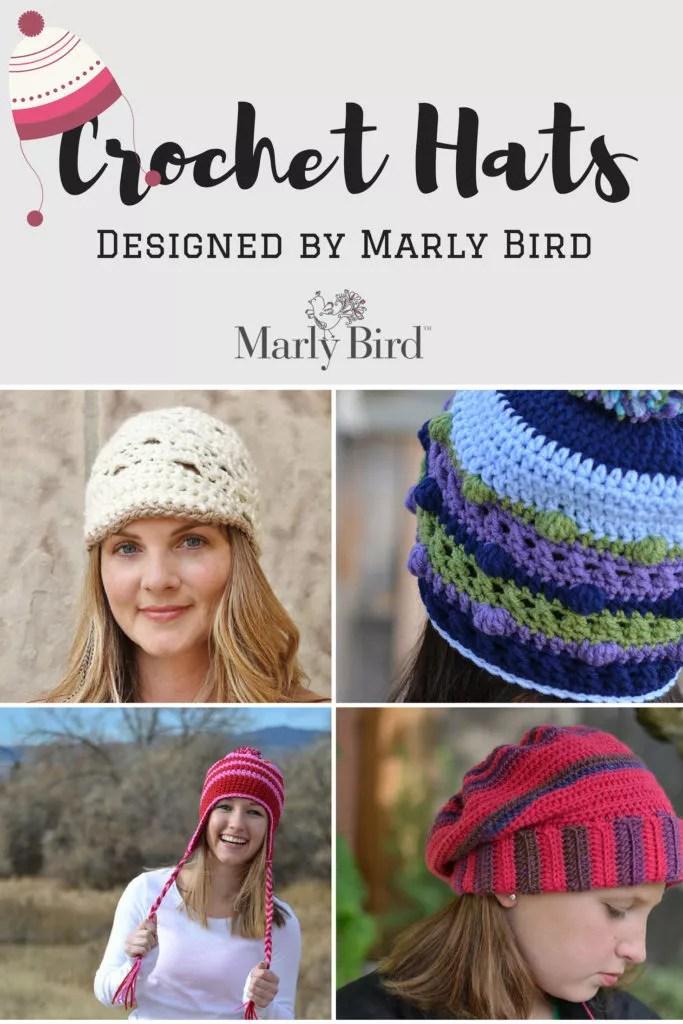 Crochet Hats Designed by Marly Bird