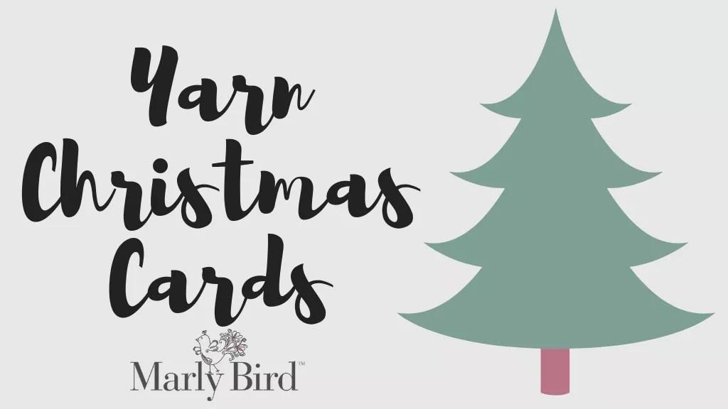 Yarn Christmas Cards