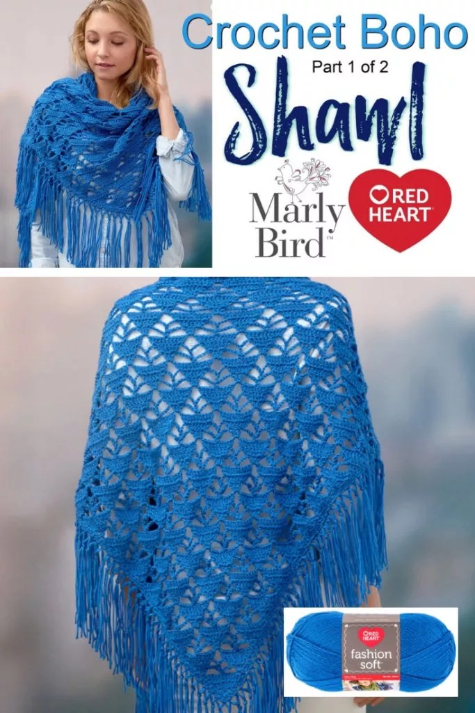 Boho Crochet Shawl-Video Tutorial