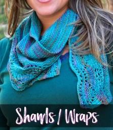 Free Knit Shawl Patterns by Marly Bird