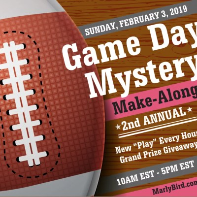 Game Day Mystery Make-Along 2019